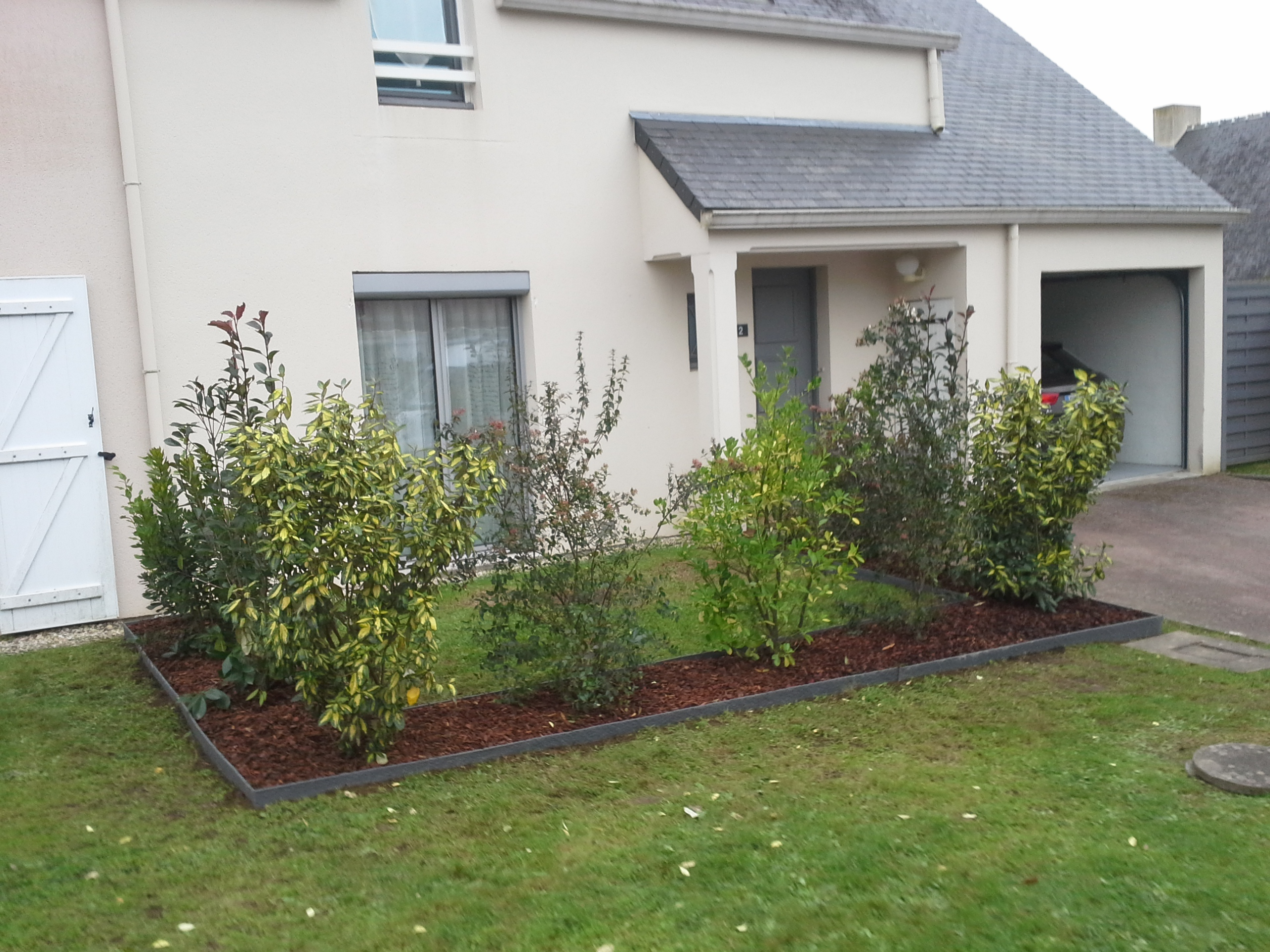 Am nagement ext rieur for Amenagement jardin bordure