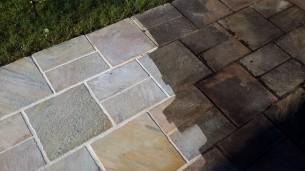rénovation de dallages et terrasses en pierre