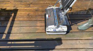 brossage terrasse bois